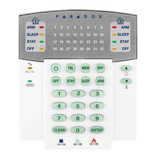 K32RF_DO__01474.1472501232?c=2 paradox k32rf 32 zone wireless led keypad, 433mhz, english paradox sp6000 wiring diagram at honlapkeszites.co